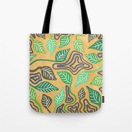 Leaf Patterns Tote Bag