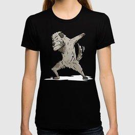 Funny Dabbing Irish Wolfhound Dog Dab Dance T-shirt