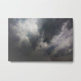 The storm cometh Metal Print