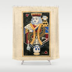 Cho-King. Shower Curtain