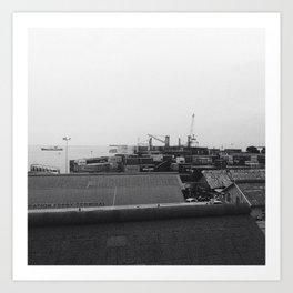#287 #Harbour #Landsape Art Print