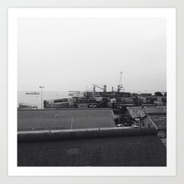 #287 #Harbour #Landsape Art Print