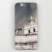 religion iPhone & iPod Skins featuring Religion by Sébastien BOUVIER