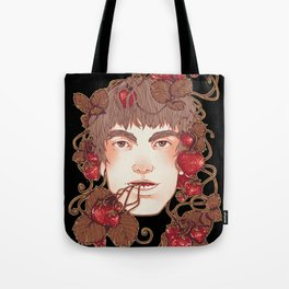Strawberry Boy Tote Bag