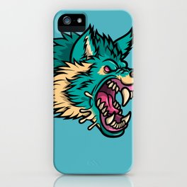 Cold Harsh Wolf iPhone Case