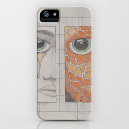 How we create monsters iPhone Case