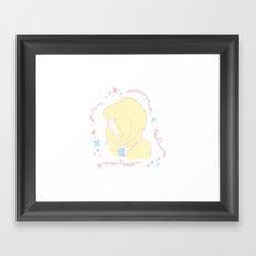 Sylvie Vartan Framed Art Print