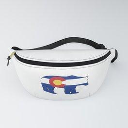 Colorado Bear Flag Fanny Pack