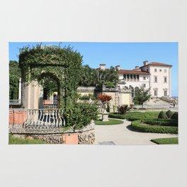 Villa Vizcaya Garden View Rug