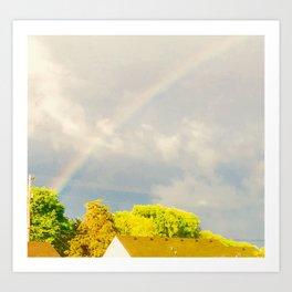 Midday Rainbow Art Print