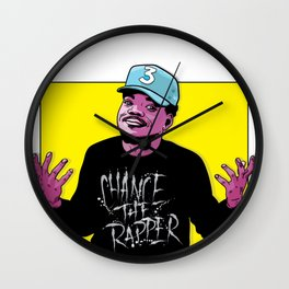 The Rapper Wall Clock