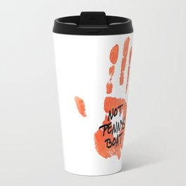 """Charlie Pace tv show Lost print """"Not Pennys Boat""""  Travel Mug"""