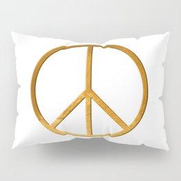 P E A C E - Symbol Pillow Sham
