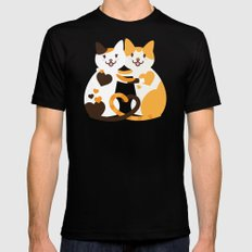 Lovecats Black Mens Fitted Tee X-LARGE