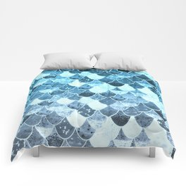 REALLY MERMAID SILVER BLUE Comforters