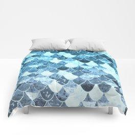 REALLY MERMAID SILVER BLUE Comforters