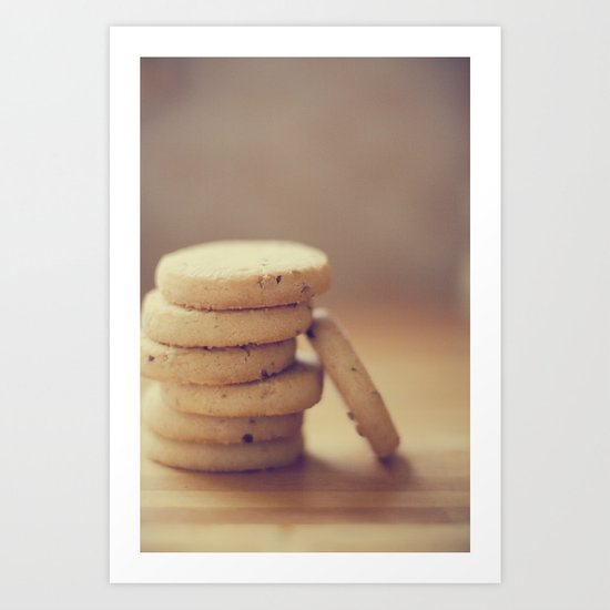 C is for cookie Art Print