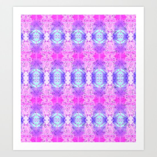 Pyschedelic Space Art Print