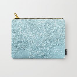 Pastel Blue Glitter Dream #1 #shiny #decor #art #society6 Carry-All Pouch