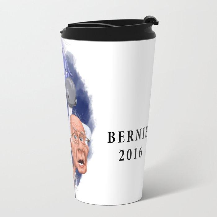 Bernie and Hillary 2016 Travel Mug