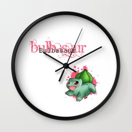 Leaf Starter 1 Wall Clock
