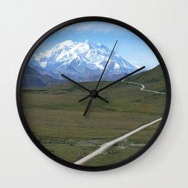 Mount Denali - 1 Wall Clock