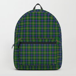 Jones Tartan Plaid Backpack