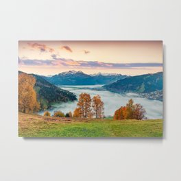 Beautiful Nature Concept Background Metal Print