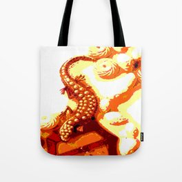 Kuhl's Kit Kat Klub: Who's Afraid Of The Big Bad Salamander? Tote Bag