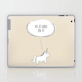 believe in me Laptop & iPad Skin