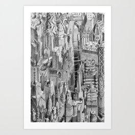 Ecumenopolis Art Print