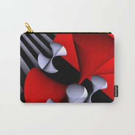 red-white-black -7- Carry-All Pouch