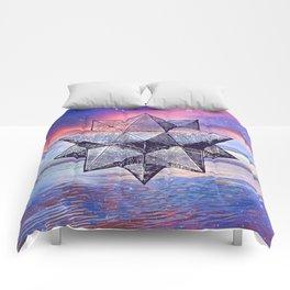 Sacred Geometry Universe 8 Comforters