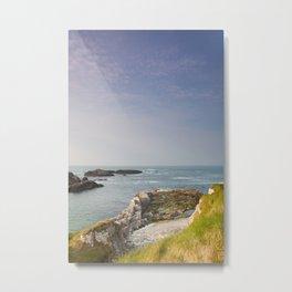 Irish Coast Metal Print