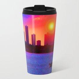 Sunset on the Bay Travel Mug