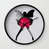 music Wall Clocks featuring music  by mark ashkenazi