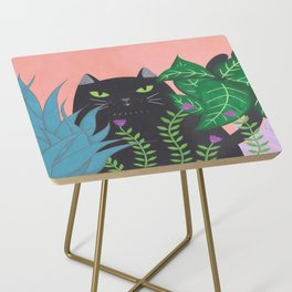 Jungle Cat Side Table