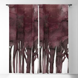 Tree Impressions No.1K by Kathy Morton Stanion Blackout Curtain