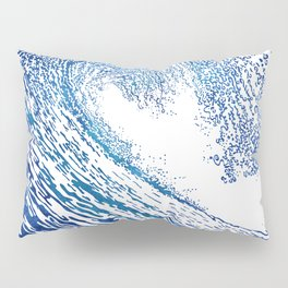 Pacific Waves IV Pillow Sham