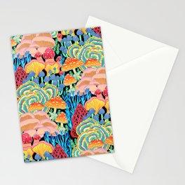 Fungi World (Mushroom world) - BKBG Stationery Cards