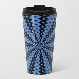 Blue & Black Travel Mug