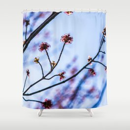 The Fuzz II Shower Curtain