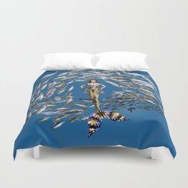 Mermaid in Monaco Duvet Cover