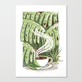 Rainforest Coffee Canvas Print