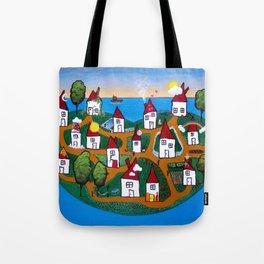 Dream House Island Tote Bag