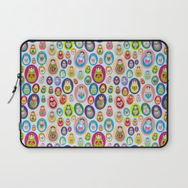 Russian matryoshka nesting doll Laptop Sleeve