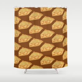 A Piece of Apple Pie Shower Curtain