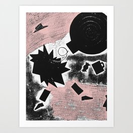 Death of Arthur Miller Art Print