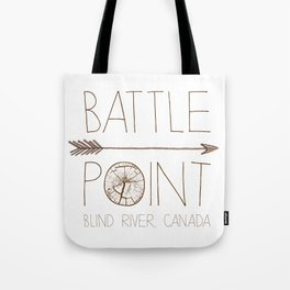 Battle Point Tote Bag