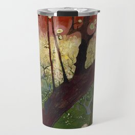 Flowering plum tree (after Hiroshige) Travel Mug